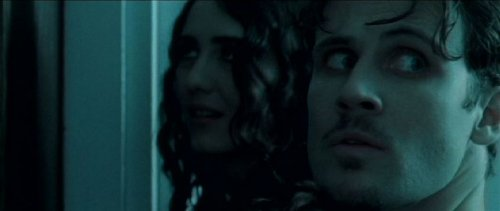 Alex with co-star Madeline Zima in 2009's The Collector