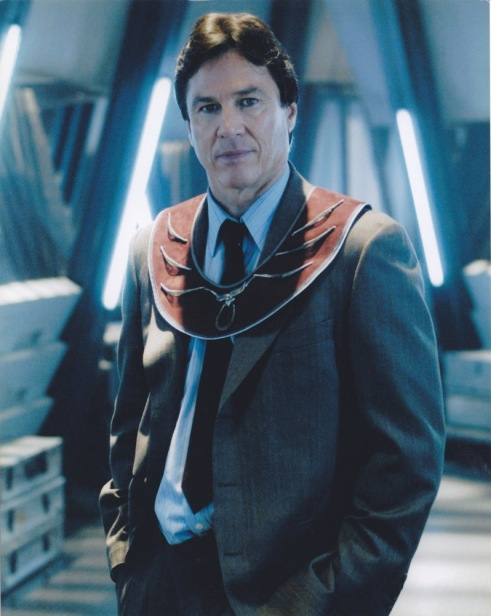 Hatch portrayed terrorist, Tom Zarek in the reimagined Battlestar Galactica series (2004-2009).