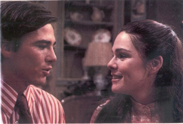 Richard as Philip Brent and co-star, Karen Lynn Gorney as Tara Martin played love interests in ABC's All My Children.